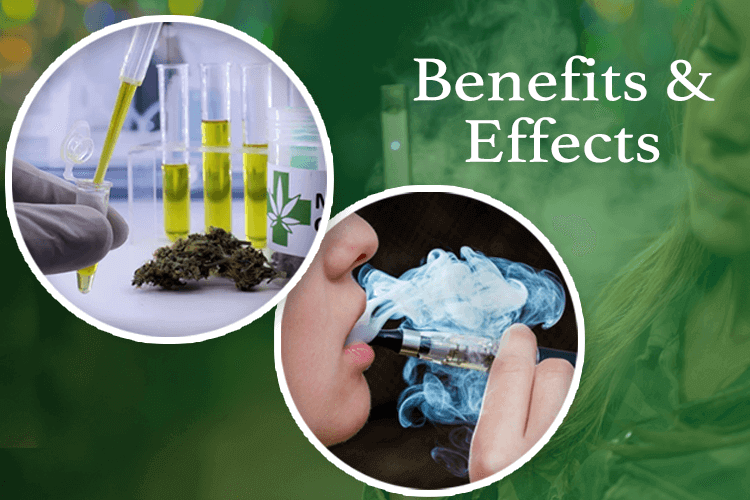 What Are The Benefits & Effects of Vaping CBD?