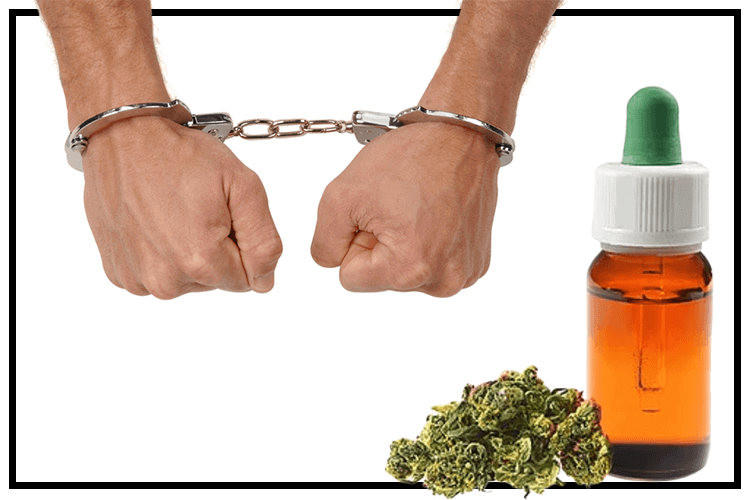 Over the counter, CBD Retailer arrested in the state of Iowa