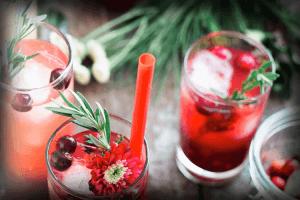 Canna-Canna Sage Shrub Mocktail Recipe