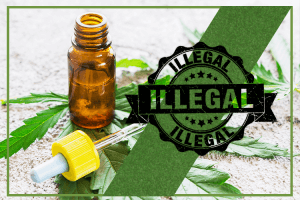 Illegal marketing of CBD products detected by the FDA